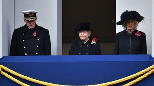 Today's Remembrance marks significant moment in Royal family's history