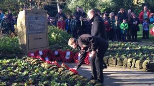 Remembrance Day in Hebden Bridge