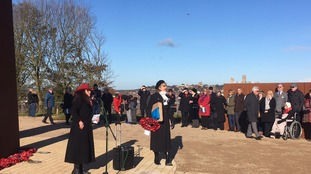 Remembrance Service at Bomber Command, Lincolnshire