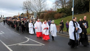 Photos from Wednesbury Remembrance Parade.