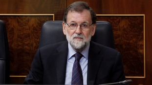 Spanish PM Mariano Rajoy urges Catalans to vote separatists out during Barcelona visit