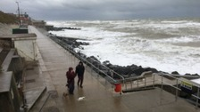 A breezy day in Sheringham
