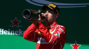 Sebastian Vettel wins the Brazilian Grand Prix as new World Champion Lewis Hamilton finishes fourth