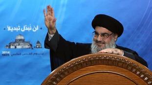 Hezbollah leader Sheik Hassan Nasrallah said Mr Hariri was forced to resign.