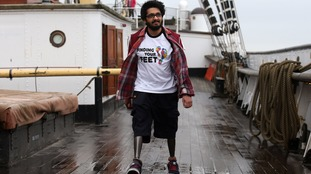 Double amputee who feared he would never walk again set for sailing adventure