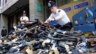 A gun amnesty in 2001.