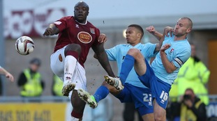 Akinfenwa is remembered fondly at Sixfields.
