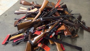 Last year more than 300 weapons were handed in to Cumbria Police