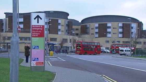 Queen's Hospital in Romford