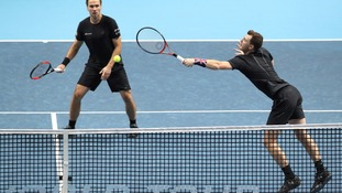 Jamie Murray's ATP Finals begin in defeat at the hands of Bryan brothers
