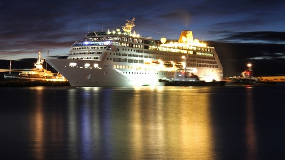 P&O Cruises' Adonia was denied a mooring at Argentina's southernmost city of Ushuaia in February 2012