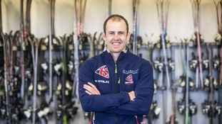 WATCH: Lancashire's Dave Ryding goes back to where it all began ahead of Winter Olympics season