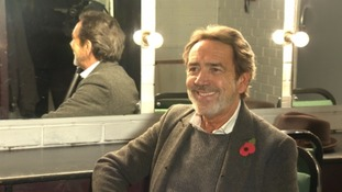 Robert Lindsay started his career at the Northcott Theatre in 1970.