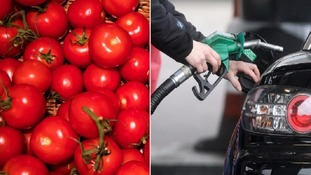 Food rise but fuel drop keeps inflation at five-year high