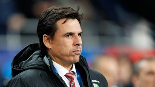 Chris Coleman takes charge of Wales for potentially the final time with staff situation unresolved