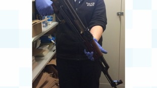 AK-47 surrendered during Wiltshire Police's firearms amnesty drive