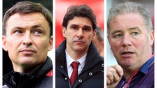 (L-R) Paul Heckingbottom, Aitor Karanka and Ally McCoist