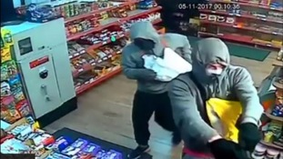 Police release CCTV of armed robbery