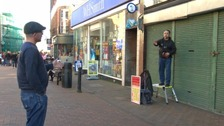 Michael Overd has once been given a dispersal order banning him from Bridgwater town centre for 48 hours.