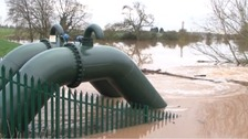The failed pump outside the village of Kempsey in Worcestershire