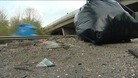 A14 layby just north of Cambridge is causing major concern with litter dropping