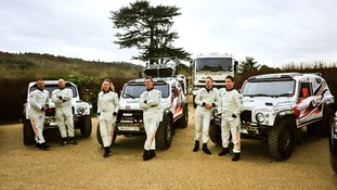 The team has four Wildcat rally cars which they hope to race across desert and mountain terrain