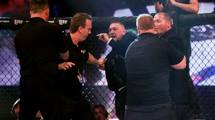 Conor McGregor apologises for altercation with referee