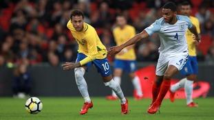 Match report: England 0-0 Brazil