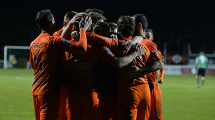 Glenavon up to second after win at Oval