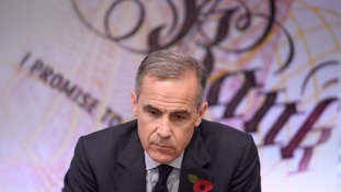 The Bank of England's Mark Carney.