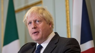 Johnson has apologised for his gaffe.