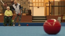A bowls club in Taunton is doing its bit to help stroke victims regain their fitness.