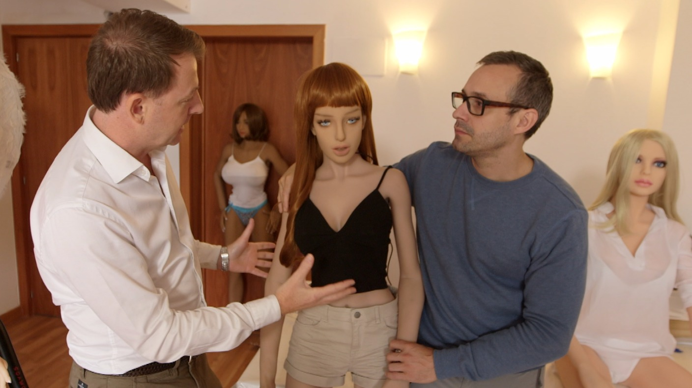 Meet the sex robots: Artificial intelligence wrapped in a sex doll