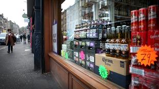 Scotland leading the world over minimum alcohol price