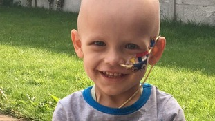 Dawson was diagnosed with a rare cancer in January.