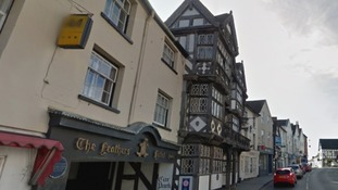The Feathers Hotel closed as a precautionary measure.