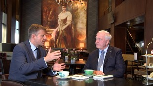 Meeting Canada's recently retired Governor General.