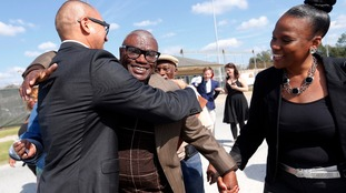 Man walks free after spending nearly 50 years in jail for rape he did not commit