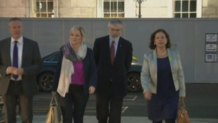 A Sinn Féin delegation met with the Taioseach.