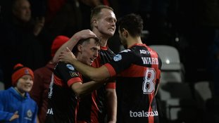 Crusaders beat Linfield to reach last four in Cup