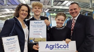 Barnside Farm won Scottish Sheep Farm of the Year.