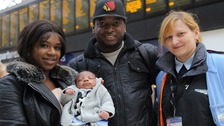Mother gives birth to baby boy at London Waterloo
