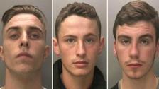 Men jailed for forcing captive girl into prostitution