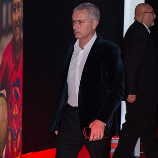 United manager José Mourinho attended the United for Unicef gala