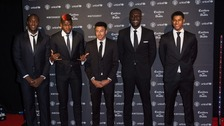 United players were joined by Stormzy and Mourinho at the United for Unicef Gala