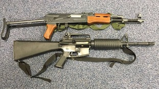Assault rifles handed in during gun amnesty