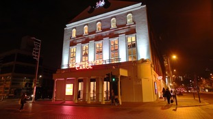 The Old Vic theatre in London.