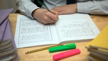 A secondary school in Bristol has decided to give up traditional marking of children's work.