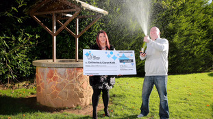 NI couple scoop £1m in Lotto two years after £20k win