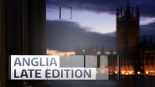 Watch this month's Anglia Late Edition programme